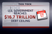 Wall Street nervously eyes debt ceiling date