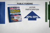 "Public funding creates ""clean elections"""