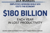 The growing push to require paid sick leave