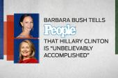 Barbara Bush: Hillary should run in 2016