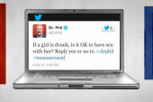 Dr. Phil sends the Twitterverse into a tizzy