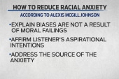Is disarming 'racial anxiety' the key to...