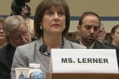 IRS official evades questioning, pleads...