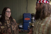 S.E. Cupp's day with 'Duck Dynasty'