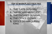 How to not be that girl or guy at work