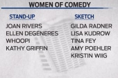 The rise of women in comedy