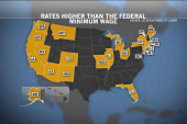 Minimum wage reform spreads throughout US