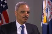 Holder: Snowden 'broke the law'