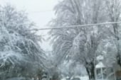 Snow pounds West Virginia following Sandy