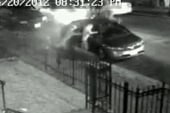 Pit bull attack caught on surveillance cam