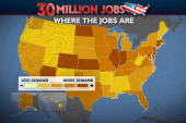 Location key in US job search