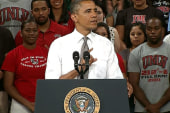 Obama seeks to halt student loan rates...