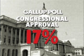 The Congressional approval ratings slump