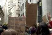Thousands march in Lower Manhattan in OWS...