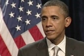 Great news on economy, Obama stands by it