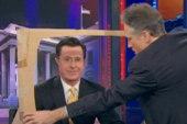 Colbert pokes fun at Citizens United