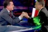 Stephen Colbert hands over Superpac to Jon...