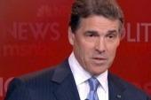 Perry bailing on debates?