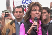 Palin, Cruz use veterans for their own agenda