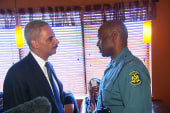 AG Holder pays visit to Ferguson, MO