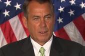 John Boehner talks tough, does nothing