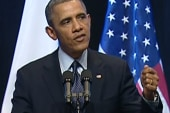 Obama calls for two-state solution in...