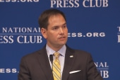 Rubio's radical denial of climate change