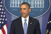 Obama calls for 11th hour shutdown solution