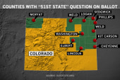 Colorado votes for succession and schools