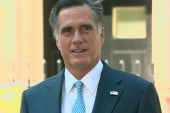 At odds over Romney's foreign trip