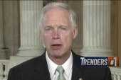 Ron Johnson runs from health care comments
