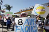 Fast food workers strike across America