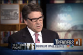 Rick Perry pushes for 'maximum' wage