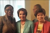 Pelosi brings fight for working women to Ohio