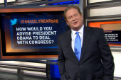 How would Ed advise Obama to deal with...