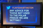 Ed on polar freeze: 'Respect it!'