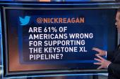 Influencing public perception over Keystone