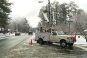 Winter snow storms ravage the East coast