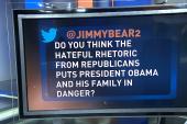 'Hateful' rhetoric threatens Obama's safety