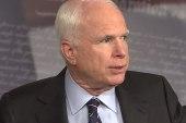 McCain wants details, yet skips Benghazi...