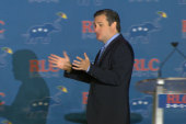 The courting of Canadian Senator Ted Cruz