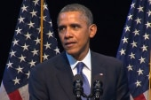 Pres. Obama's powerful offensive speech