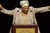 Today's top Trender: Maya Angelou memorial