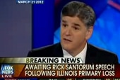 Sean Hannity can't get it straight for...