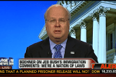 Karl Rove tries to clean up Jeb's gaffe