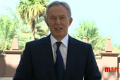 Tony Blair re-writes history