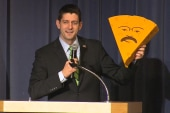 Paul Ryan's cheesin' his way to Iowa