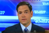 Rubio won't discuss an immigration bill