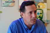 Rick Santorum goes to Hollywood