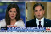 The Erin Burnett question even Rubio won't...